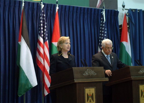 Secretary Clinton With Palestinian Authority President | by U.S. Department of State