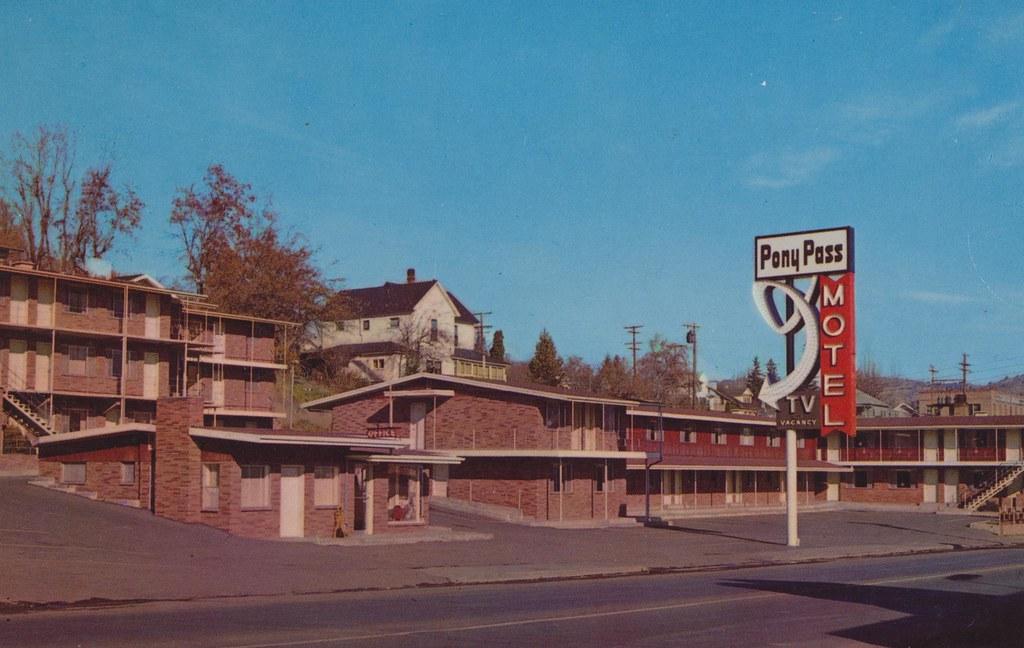 Pony Pass Motel - Klamath Falls, Oregon