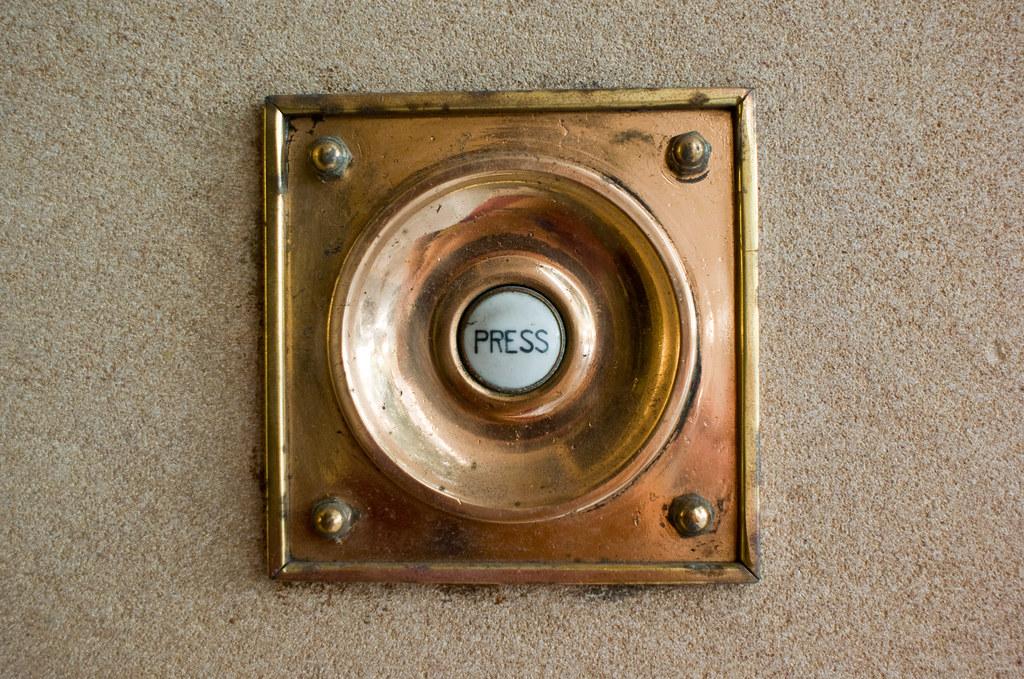 on door button doors bell an brass style plinth victorian oak push antique
