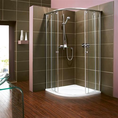 Bellavita round (luxury shower enclosures) | Standing at a s… | Flickr