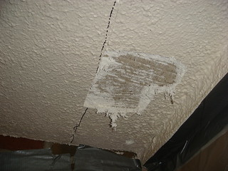 Asbestos Spray Applied Acoustic Surfacing Example Of An
