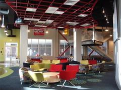 The Arena, FBC Tuscaloosa, AL | Downstairs lounge area ...