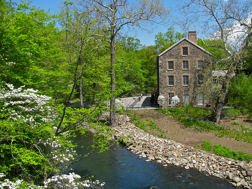 Spring at the Stone Mill House | by larken81