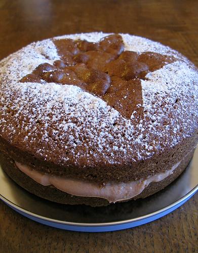 Chocolate Sponge Cake Japanese