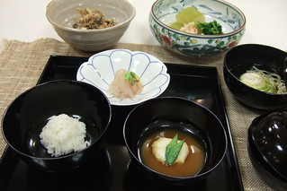 Choyo no kaiseki (September Kaiseki) : cooking lesson | by tokyofoodcast