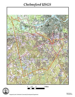 Chelmsford MA USGS map | by chelmsfordpubliclibrary