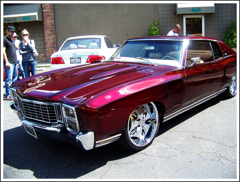 Candy Black Cherry Paint Job >> Wild Cherry Candy 1972 Monte Carlo 2009 Tower District Flickr