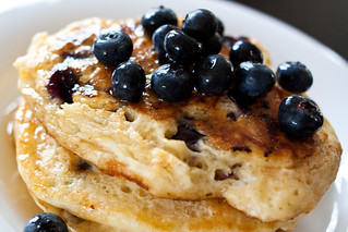 Blueberry Pancakes | by TheWanderGirl