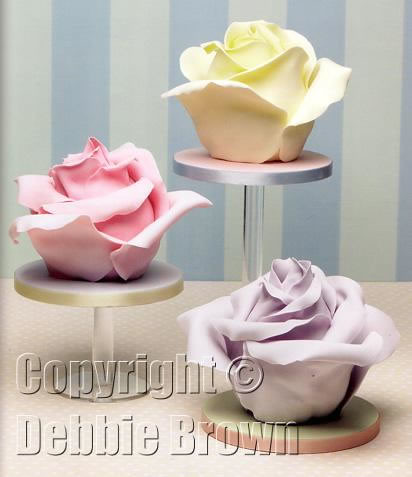 debbie brown wedding cakes retro roses from wedding cakes debbie brown s 13367