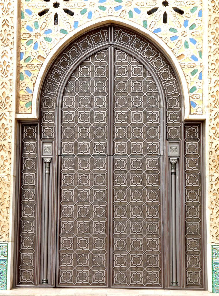Wonderful ... Hassan II Mosque  Door | By Peter Ashton Aka Peamasher