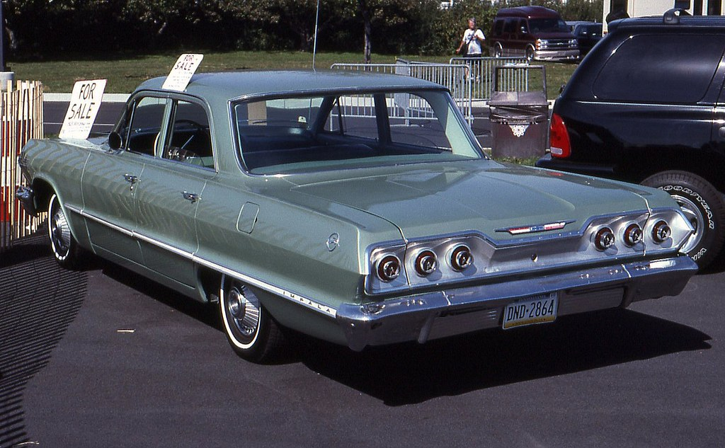 1963 Chevrolet Impala 4 door | Richard Spiegelman | Flickr