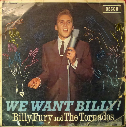 Billy Fury And Tornados We Want Billy