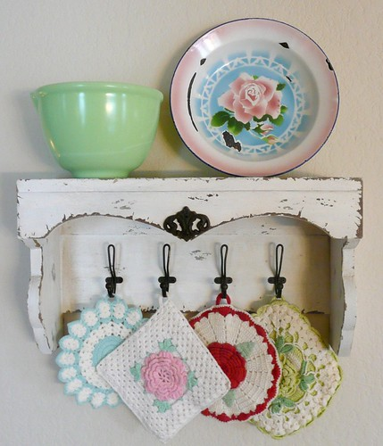 kitchen shelf | by seaside rose garden