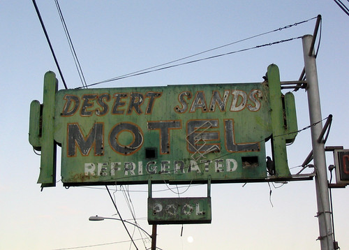Desert Sands Motel, Old Spanish Trail, US 80, Yuma, Arizona | by drivetheost