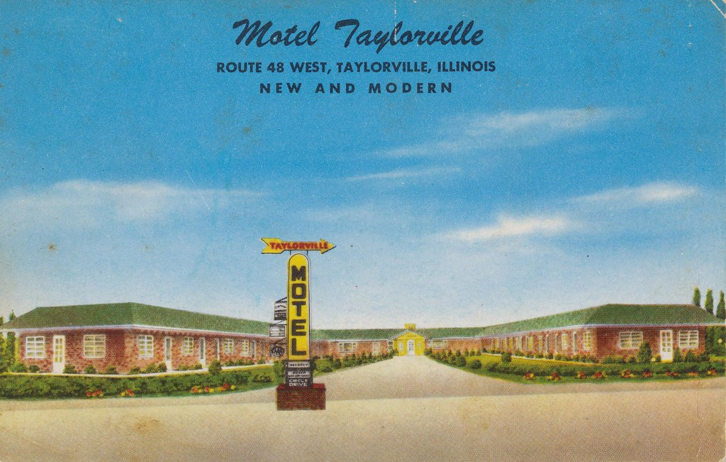 Motel Taylorville - Taylorville, Illinois