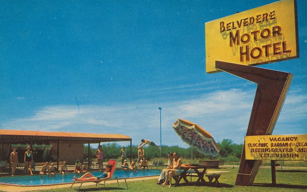 The Cardboard America Motel Archive Belvedere Motor Hotel