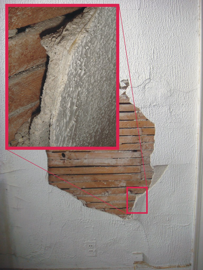 How to Identify Asbestos in Plaster