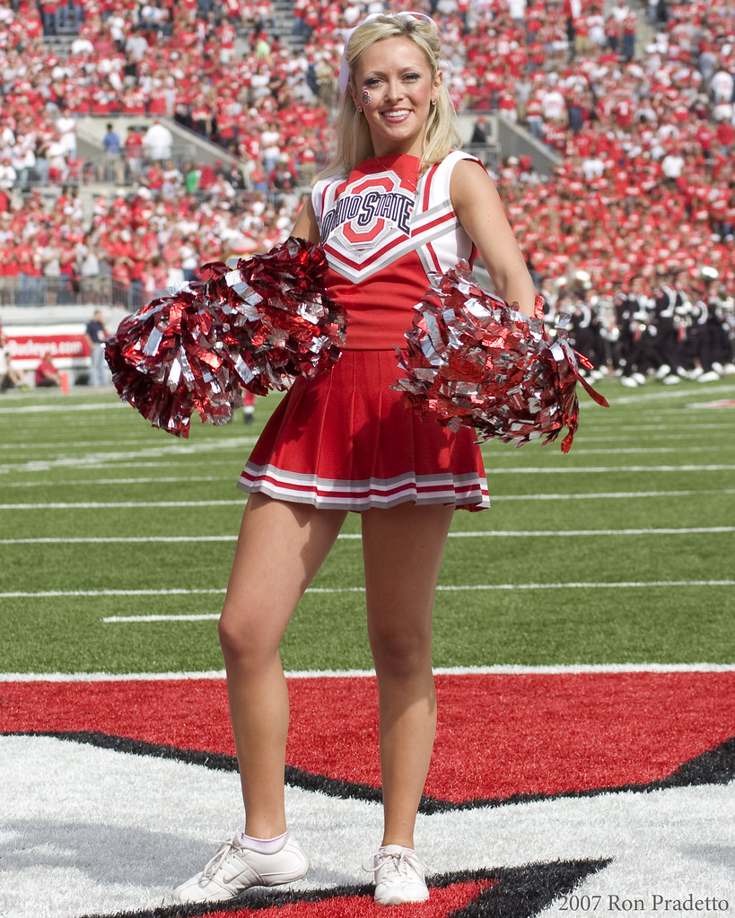 0992 ohio state cheerleader september 27 2008 ohio state u2026 flickr