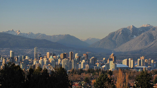 Vancouver Skyline and Mountains HDR | by keepitsurreal