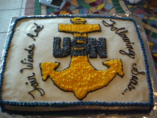 Navy Chief Retirement Cake 2 | by beccatowle