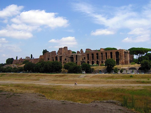 Circus Maximus  I took a hike across this without knowing w…  Flickr