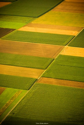 In the sky (view from above) | by Maciej - landscape.lu
