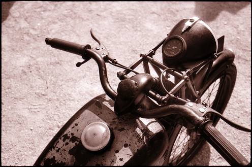 old bike • plombieres, burgundy • 2009 | by lem's