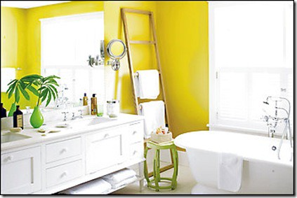 Benjamin moore yellow paint flickr for Bathroom yellow paint