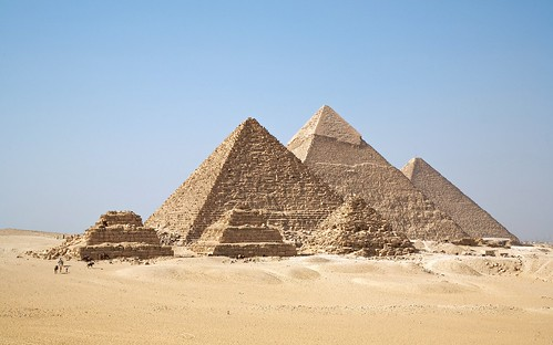 Man-made - Gizah Pyramids | by Trodel