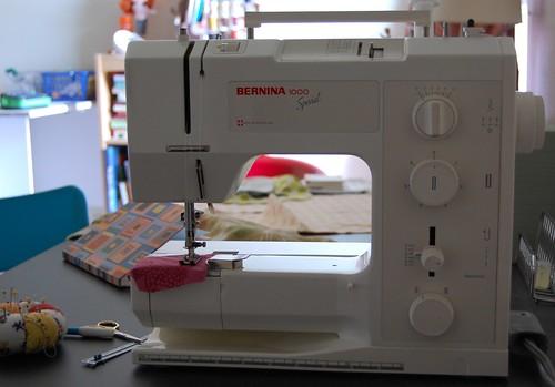 My sewing machine: Bernina 1000 Special