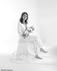 Mother and 5 week old Sophie | by Richard Roscoe Photography