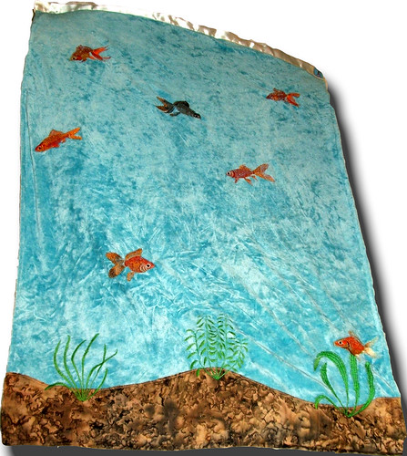 Goldfish OBV LoveScape Blanket - Holden's Landing | by mom2kbeth