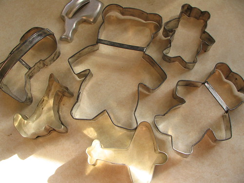Cookie cutters: three bears and more | by litlnemo