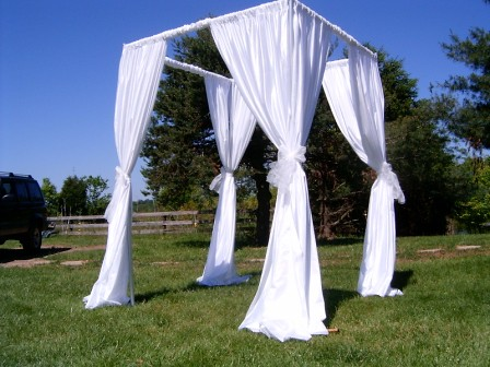 Ceremony Canopy | by eventswithdesign Ceremony Canopy | by eventswithdesign & Ceremony Canopy | Canopy of white fabric for wedding ceremonu2026 | Flickr