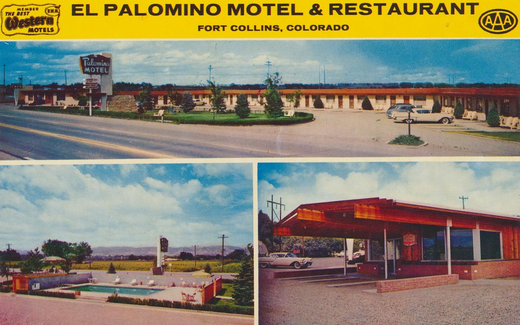 El Palomino Motel and Restaurant - Fort Collins, Colorado