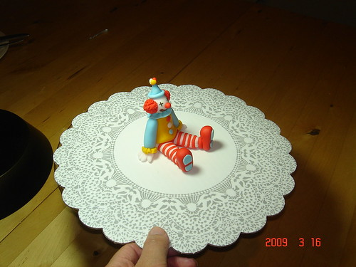 Clown Cake Topper Decorations