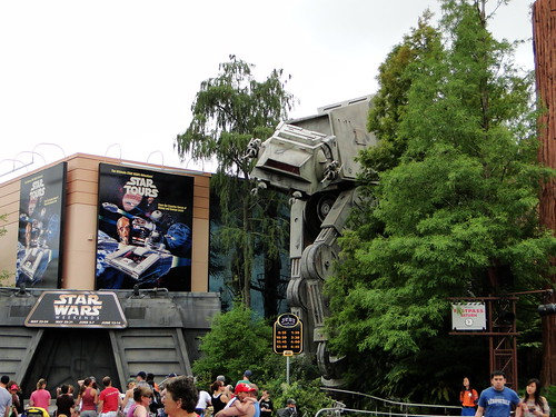 Star Tours On Ride Disney World
