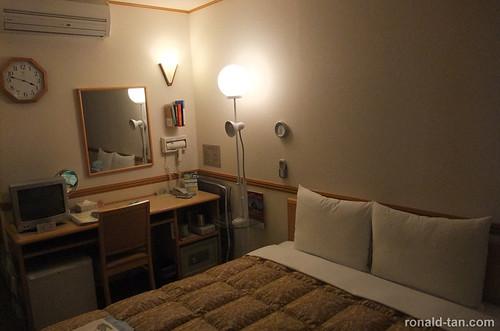 Sapporo Hotel Room