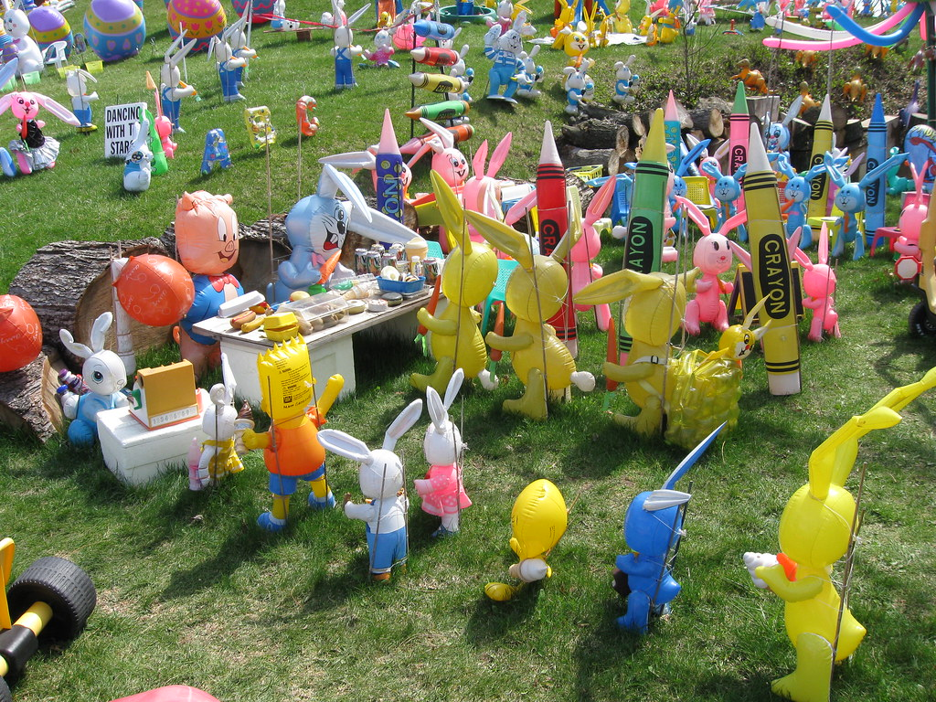 Crazy Easter Decorations in Pittburgh   Every Easter the own…   Flickr