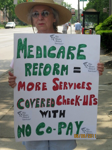 Local Ohioans Challenge Congressman Tiberi and Stivers to Support Medicare & Medicaid | by ProgressOhio