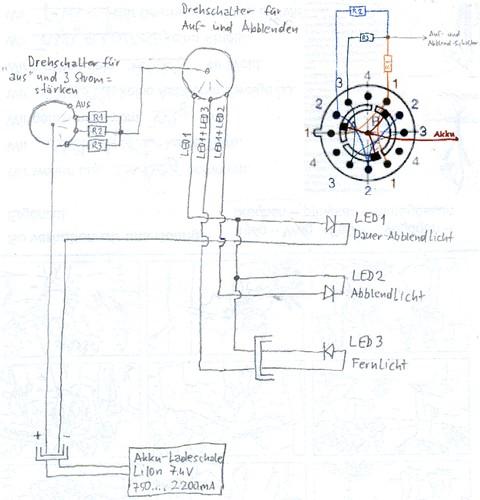 Der Schaltplan | Bei einem Versuch mit den bereits gebauten … | Flickr
