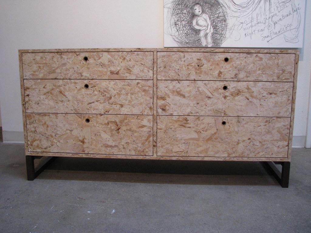 osb dresser  eco friendly dresser made with osb with a wal…  flickr - eco friendly dresser made with osb with a wal…  flickr