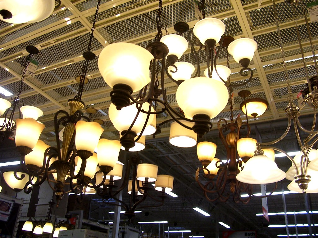 Home Depot Lighting Department | Francesco | Flickr