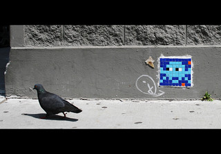 Space Invaders VS Pigeons | by Qouint