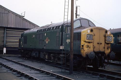 D 6701 At Lincoln Diesel Depot 9 15am 12th April 1970