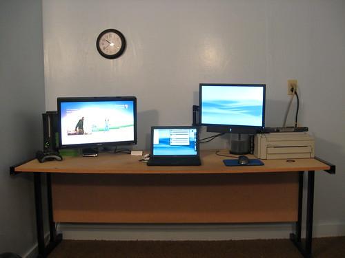 Desk Setup June 2009 The Desk Itself Is Built Of 3 4