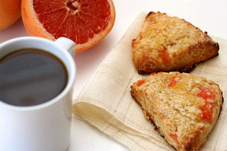 grapefruit scones 5 | by crumblycookie