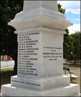 South Australian Harbors Board WWI Memorial | by Adelaide Archivist