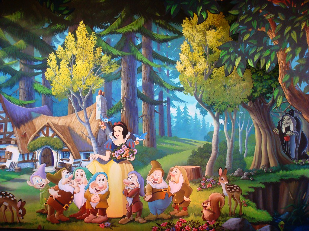Wall mural of snow whites scary adventures snow whites s flickr wall mural of snow whites scary adventures by partyhare amipublicfo Gallery