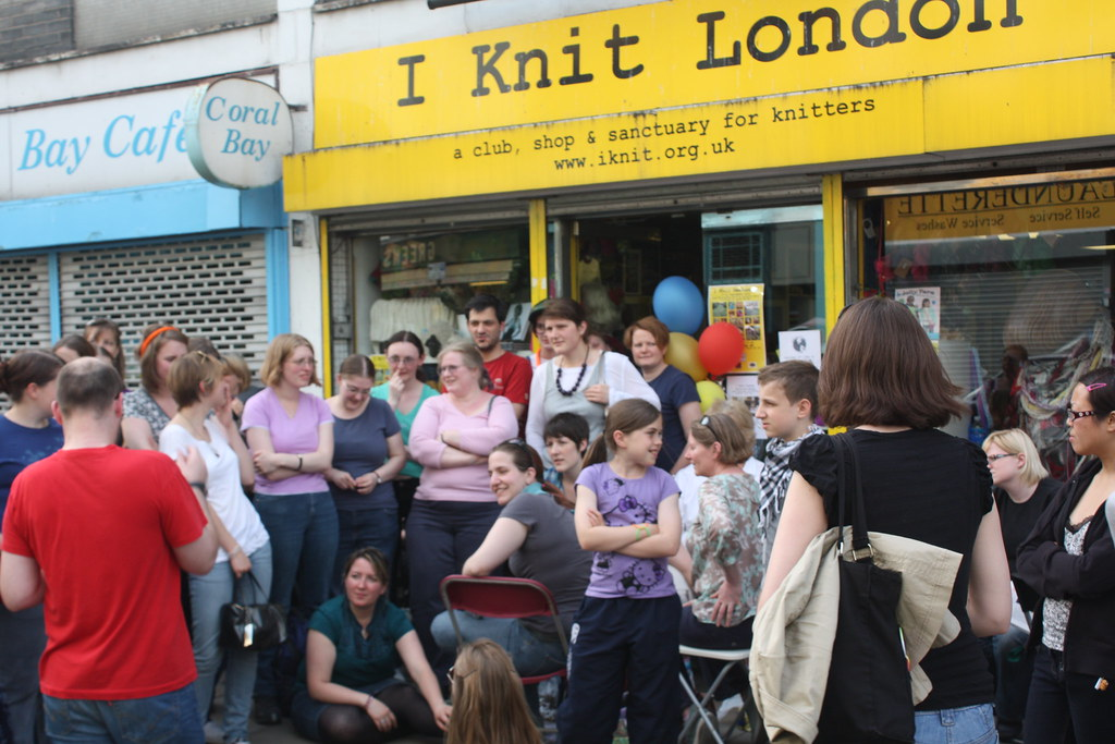 Knitting Jobs London : Wwkip day i knit london treasure hunt flickr